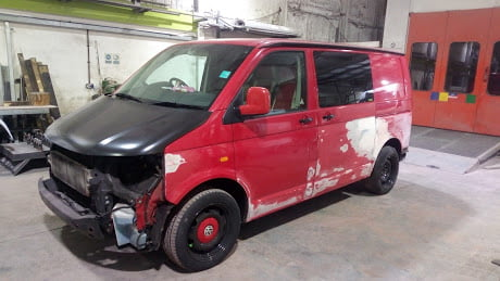 Reburb & Respray, VW T5 (1)
