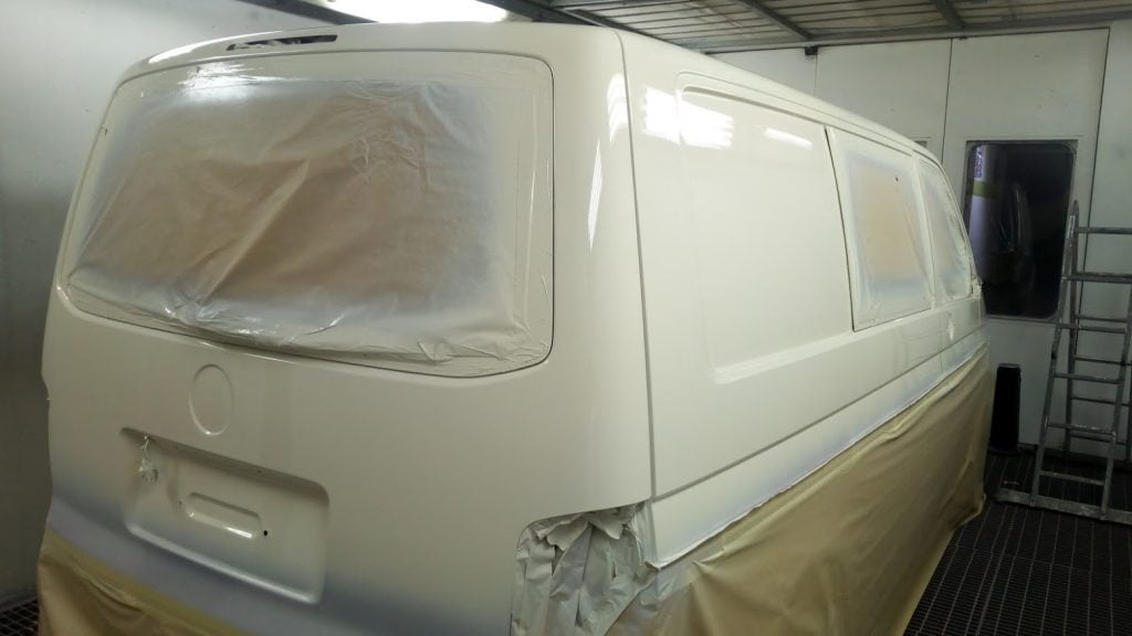 Reburb & Respray, VW T5 (2)