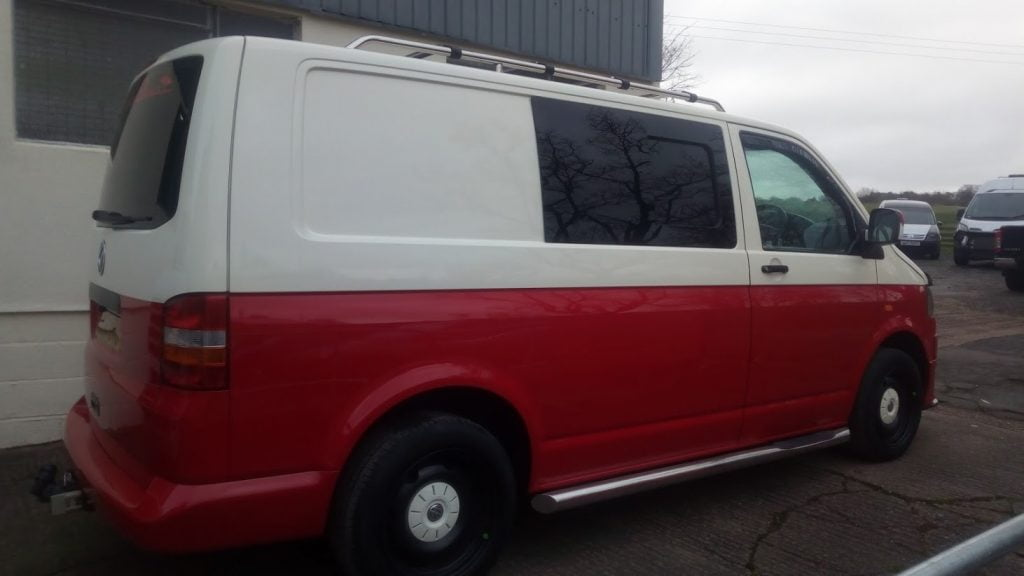 Reburb & Respray, VW T5 (3)