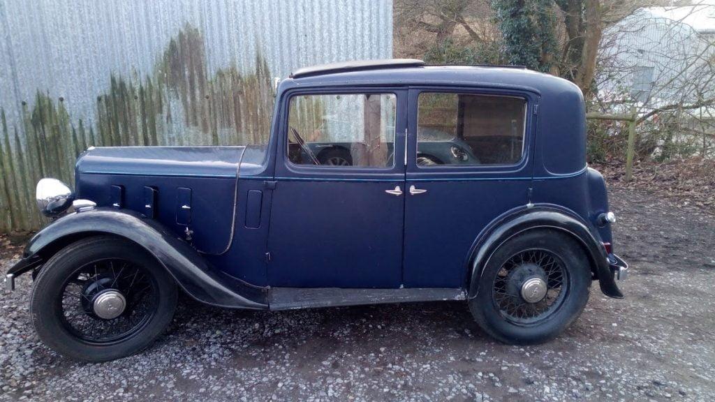 Refurb & Respray, 1935 Austin 10 (1)