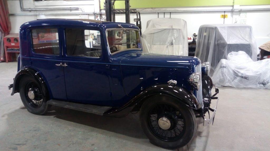 Refurb & Respray, 1935 Austin 10 (3)