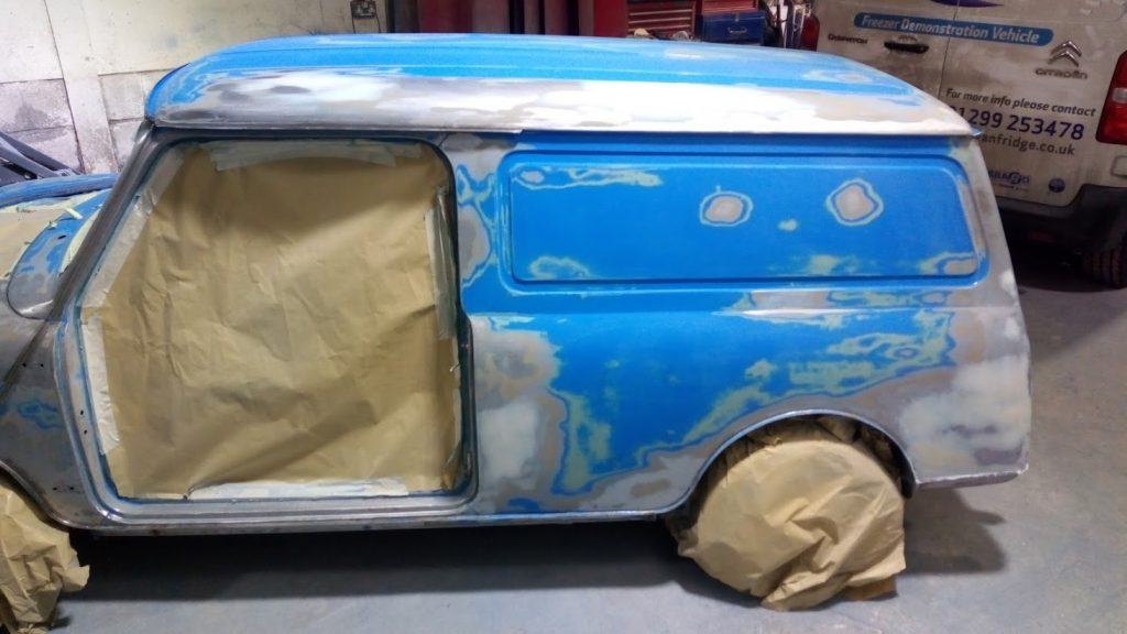 Refurb & Respray, Mini van (1)