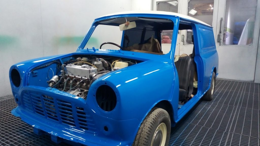 Refurb & Respray, Mini van (2)