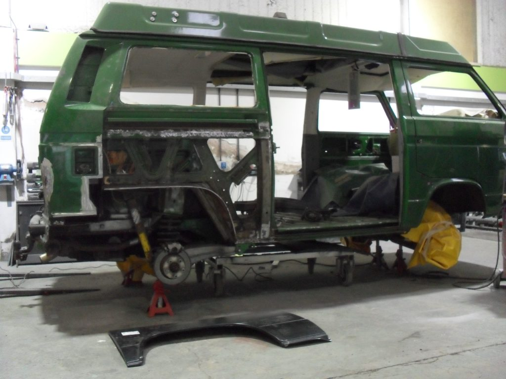 Restoration, VW T25 Syncro (1)