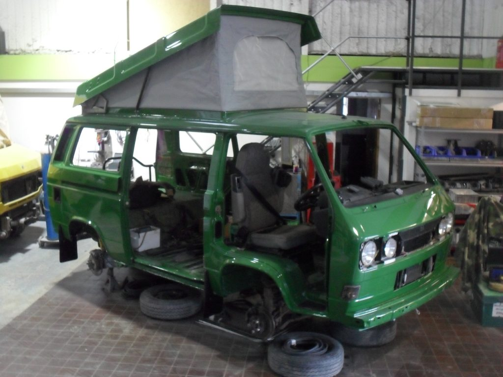Restoration, VW T25 Syncro (2)