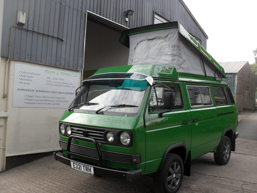 Restoration, VW T25 Syncro (3)